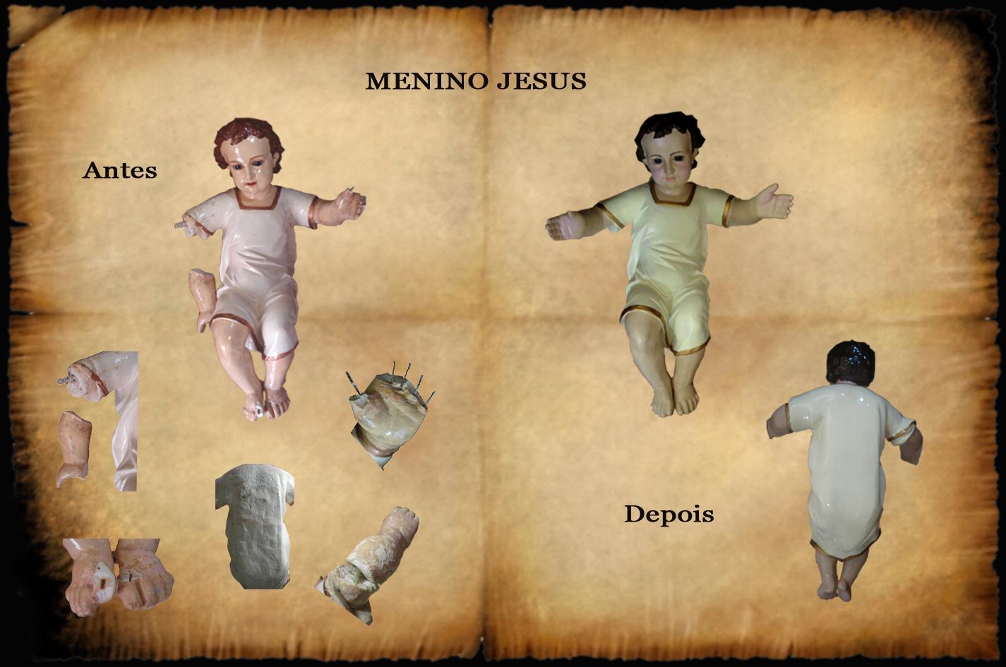 Menino Jesus de presépio (2)